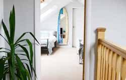 Green Rooms hallway