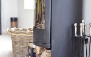 Green Rooms woodburner