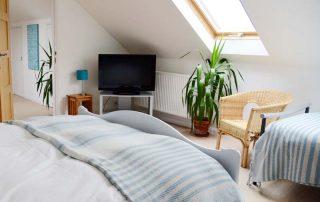Green Rooms bedroom